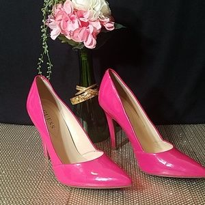 Guess Hot Pink Heels
